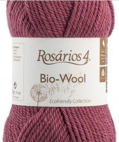 Bio-Wool 13 světlá vínová