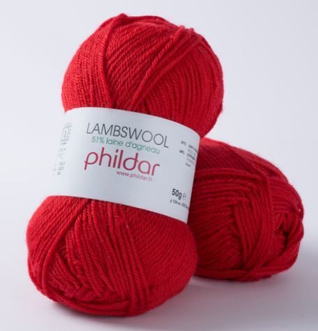 LAMBSWOOL Rouge PHILDAR