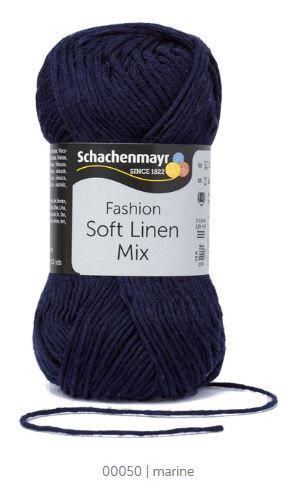 Soft Linen Mix 50 marine