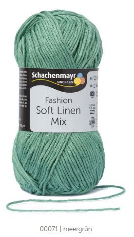 Soft Linen Mix 71 meergrün