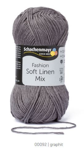 Soft Linen Mix 92 graphit SCHACHENMAYR