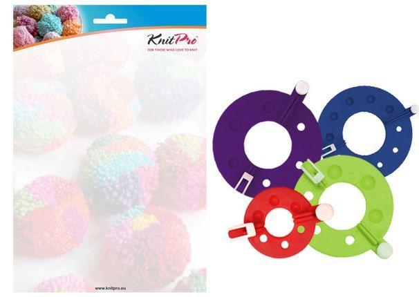 Rejoice Pom Pom Makers 4 velikosti KnitPro