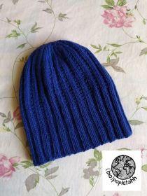 Čepice z Bio-Wool Rosários 4 03 Royal Blue