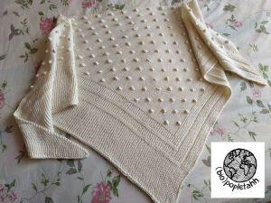 VIOLETA asymetrický šátek od Isabell Kraemer