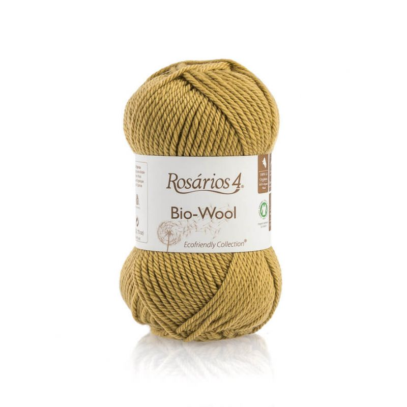 100% organic wool Bio-Wool 05 ROSARIOS4