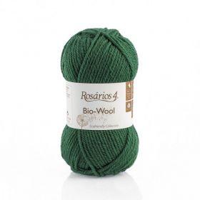 100% organic wool Bio-Wool 07 zelená ROSARIOS4