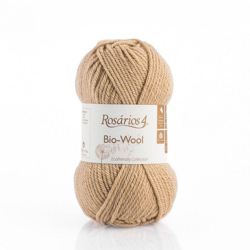 100% organic wool Bio-Wool 21 béžová ROSARIOS4