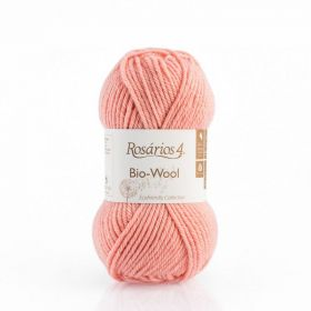 100% organic wool Bio-Wool 26 broskvová ROSÁRIOS 4