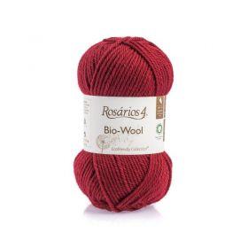 100% organic wool Bio-Wool 28 vínová ROSARIOS4