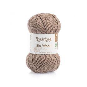 100% organic wool Bio-Wool 29 světle hnědá ROSARIOS4