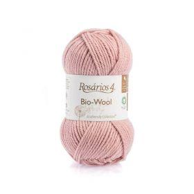 100% organic wool Bio-Wool 30 starorůžová ROSARIOS4