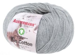 BIO COTTON 07 grau meliert