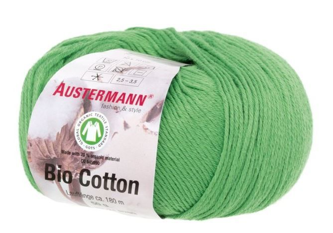 BIO COTTON 09 zelená Austermann