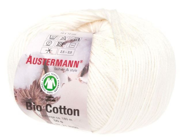 BIO COTTON 10 natur Austermann