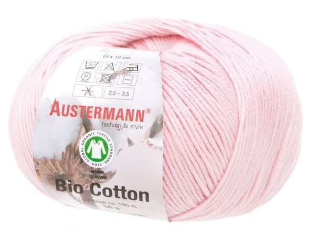 BIO COTTON 14 rose Austermann