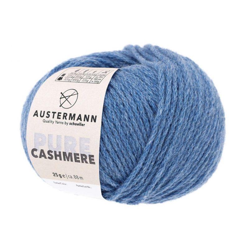 Cashmere Pure 09 JEANSMELIERT Austermann