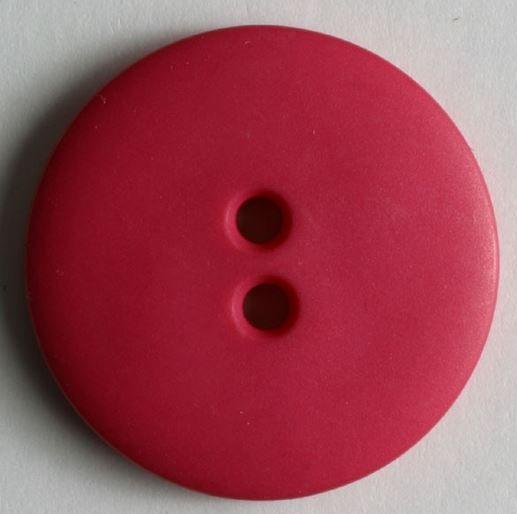 Dámský polyamidový módní knoflík růžový pink 20 mm DILL