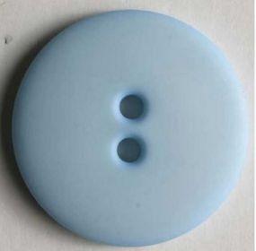 Polyamidový módní knoflík světle modrý 20 mm