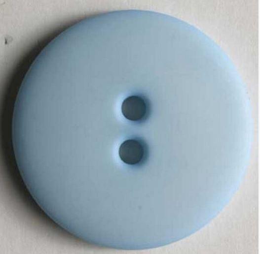 Dámský polyamidový módní knoflík světle modrý 20 mm DILL
