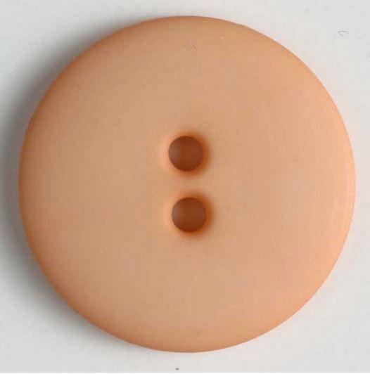 Dámský polyamidový módní knoflík světle oranžový 20 mm DILL