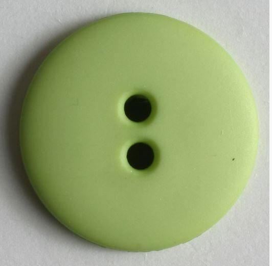 Dámský polyamidový módní knoflík světle zelený 20 mm DILL