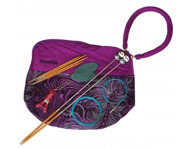 Exkluzivní sada Knit & Go Bambus HIYAHIYA