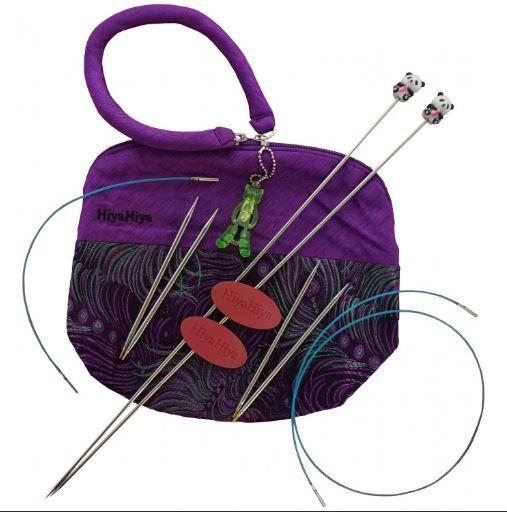 Exkluzivní sada Knit & Go Sharp HIYAHIYA