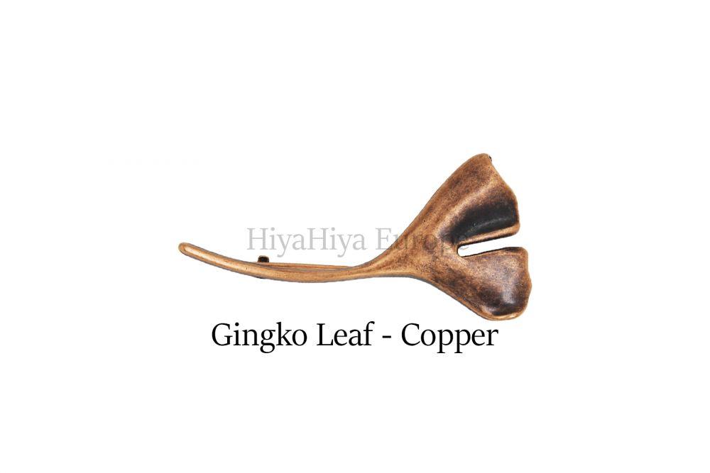 HiyaHiya - Spona na šátek Ginkgo biloba / měď