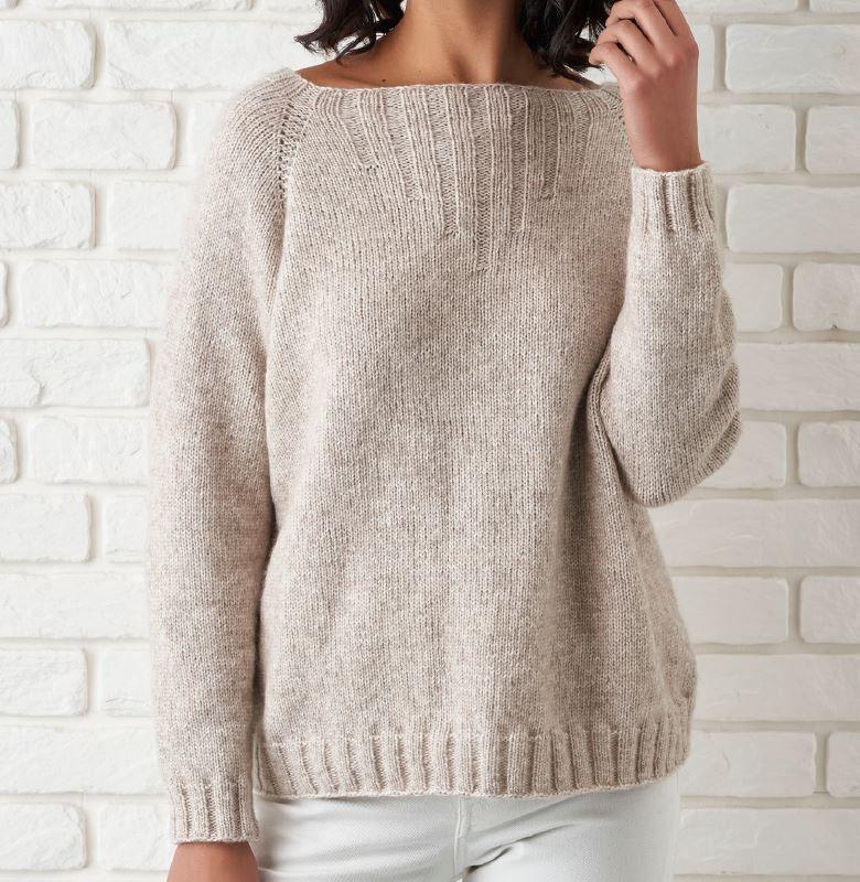 Dámský pulovr Vilemína z příze Belmonte