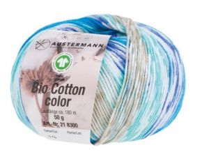 BIO COTTON COLOR 116 türkis
