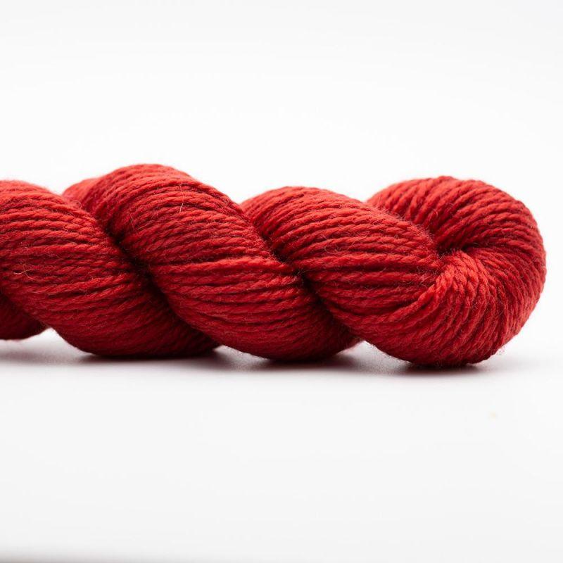 In the Mood 15 Tiefrot Kremkre Soul Wool